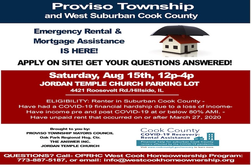 Event ERM Assistance Proviso Sat Aug 15 2020