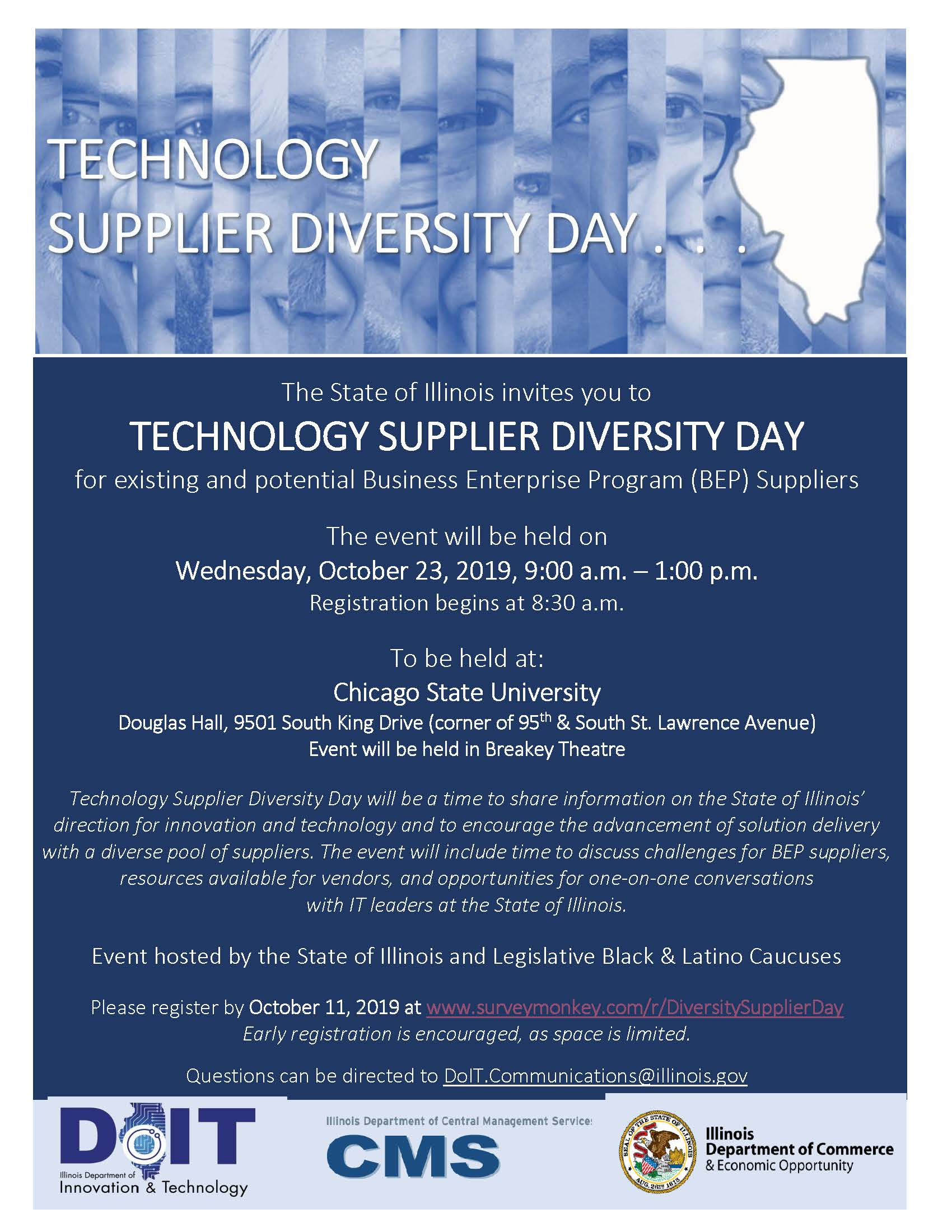 TechnologyDiversitySupplierDay invitation